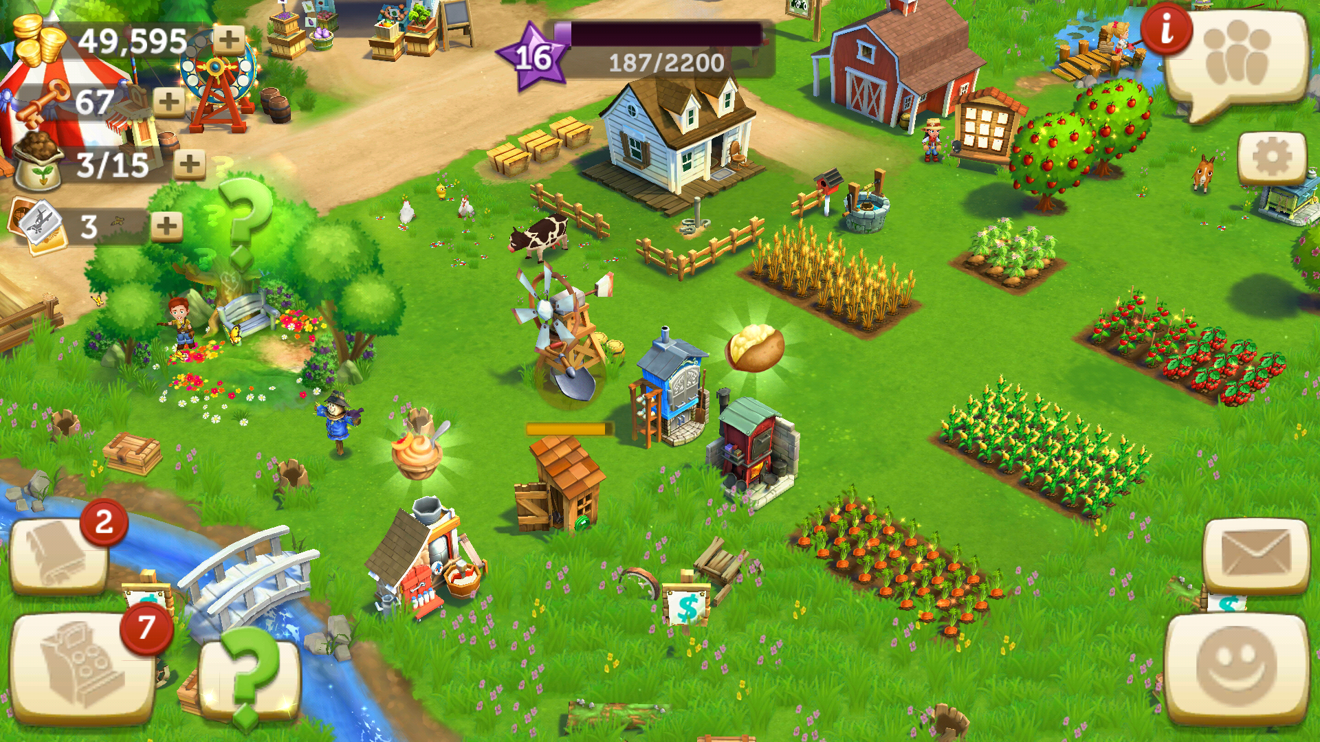 Farmville Spring Basket and Eggs: How it All Works and What You Get