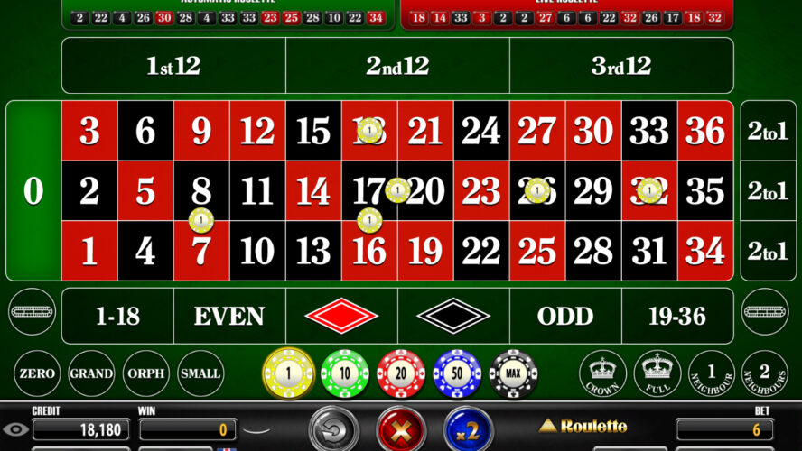 Choose Roulette Gambling Play