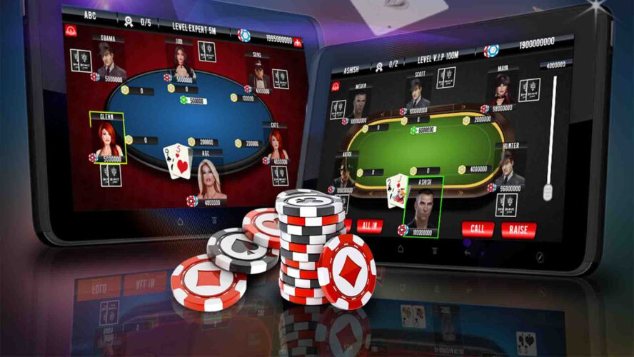 Online Poker The Leading Edge